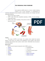 COMPLEX REGIONAL PAIN SYNDROME.docx