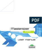 MAN0384-1.0 Mastersizer 2000 User Manual
