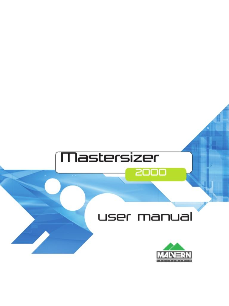 man0384 1 0 mastersizer 2000 user manual scattering menu computing