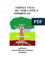 A Energia Vital Sublime Sob a Otima Espiritual (Psicografia Luiz Guilherme Marques - Espiritos Diversos)