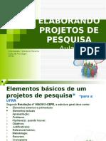Elaborando Projetos de Pesquisa - Cópia