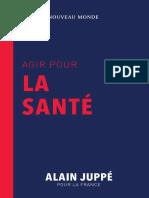 Programme Sante - Alain Juppe