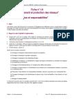 Fiche I-9 Déplacement Et Protection Des Réseaux
