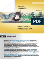 Ansys Ls-dyna Mapdl 14.5 l01 Introduction