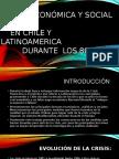 Crisis Económica de Chile Década de Los 80