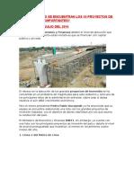 10 Proyectos de Inversión Más Importantes Del Perú