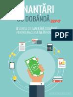 8 Surse de Finantare Cu Dobanda Zero