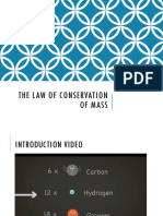 notes - law of conservation of mass