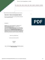 Área Cível - Recurso de Apelação Adesivo