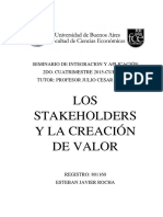 Los Stakeholder Como Factor Estrategico Version Final