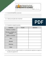 A.1.1 Ficha de Trabalho Tipos e Funções Dos Nutrientes 2