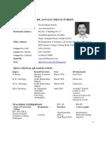 Dr. Jawale Resume 2014
