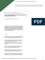 Cível - Ação Declaratória de Prescrição Cumulada Com Cancelamento de Protesto - DomTotal