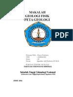 Makalah Peta Geologi