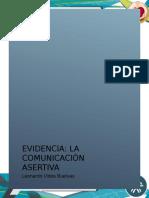 Evidencia La Comunicacion Asertiva