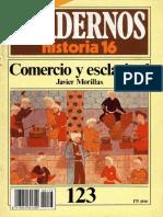Cuadernos de Historia 16 123 Comercio y Esclavitud 1985