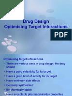 11 - Drug Design - Optimizing Target Interactions