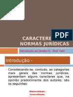 Caracteres Das Normas Jurídicas