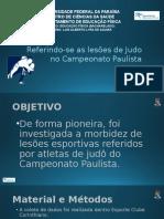Apresentação Sousa Et Al 2006 - Lesoes No Judo C.ampeonato Paulista
