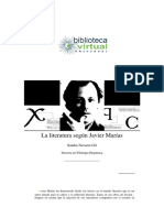 Javier Marías Biografia