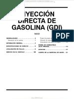 Manual Inyeccion Directa Gasolina Gdi Mitsubishi Localizacion Fallas Servicio Bomba Combustible Inyector Mariposa Gases