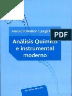 Analisis Quimico e Instrumental Moderno