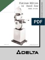 Delta 28-255 User Manual