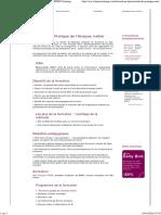 Analyse Métier - Formation Méthode Et Pratique _ BPMS Training