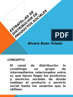 Estrategias de Distribucion de Productos Sociales