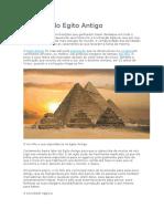Resumo Do Egito Antigo