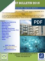 GNIPST Bulletin VOL 61 ISSUE 1