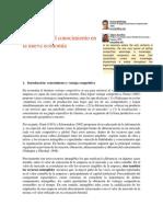 2. La Gestión Del Conocimiento en La Nueva Economía