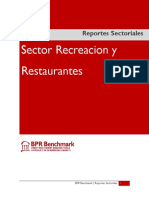 Sector Recreacion y Restaurantes