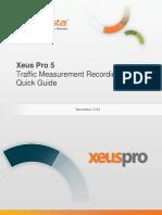 InfoVista Xeus Pro 5 TMR Quick Guide