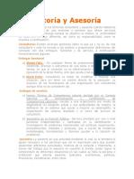 1.- Consultoría vs Asesoría