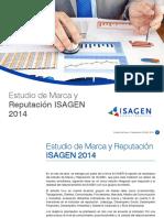 Estudio de Marca y Reputacion Isagen 2014