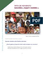 [ESPAÑOL] Carta de Adviento 2016 – Familia Vicenciana