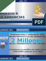 Propuesta Impuesto a las Ganancias General