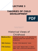 Lecture 2 N 3 Theories of Child Development