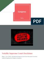 unit 4- congress lecture notes