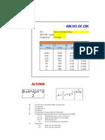 Excel Estructuras Hidraulicas