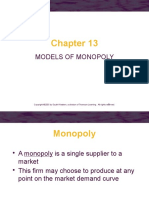 Ch13.Ppt_models of Monopoly