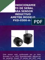 Acondicionamiento de Señal Para Sensor Inductivo