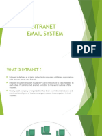 Intranet Email System