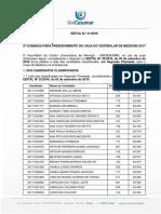 Edital 41 2a Chamada MEDICINA 2017