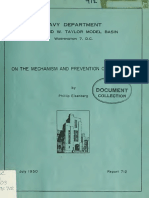 On the Mechanism and Prevention of Cavitation