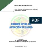 Primer Nivel de Atención de Salud (Guatemala)
