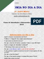 Astronomia Do Dia a Dia - Aula 01