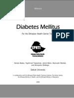 Mod Diabetes Final