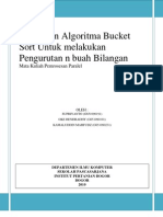 Algoritma Bucket sort